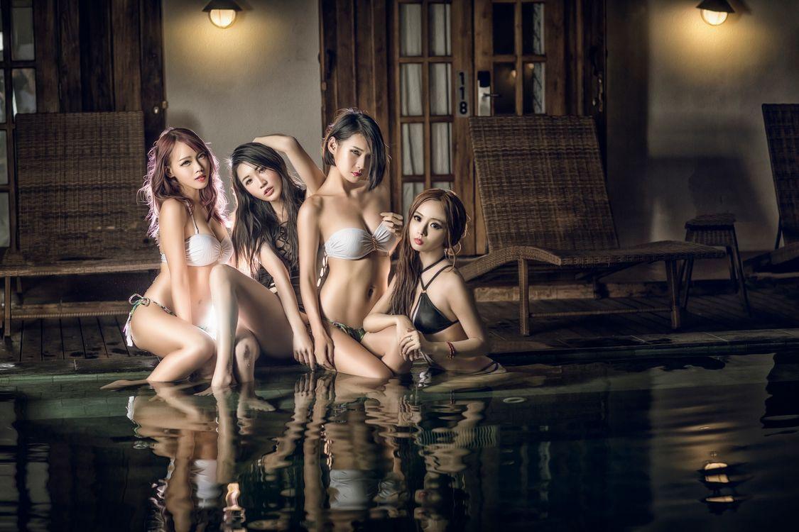 азиатские красотки · бесплатное фото