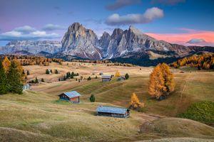 Фото бесплатно Сейзер Альм, Доломиты, Южный Тироль, Италия, Seiser Alm, Dolomites, South Tyrol, Italy