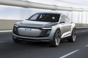 Фото бесплатно Audi E Tron, Audi, 2017 Автомобили
