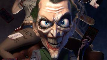 Photo free Joker, superheroes, Dc Comics