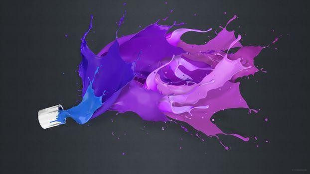 Фото бесплатно фон, цвет, краска