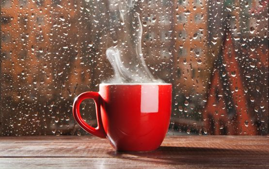 Photo free cup, drops, glass