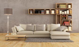 Бесплатные фото гостиная,мебель,диван,модерн,книжные полки