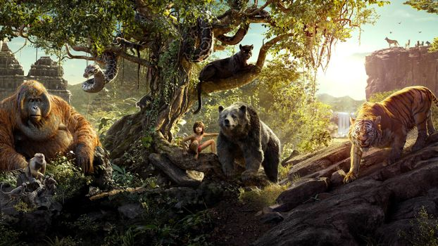 Фото бесплатно The Jungle Book, Книга джунглей, фантастика
