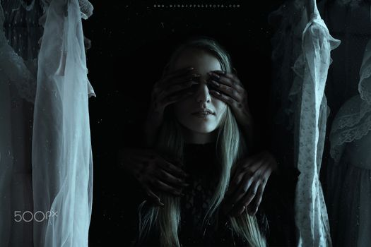 Бесплатные фото темная фантазия,500 пикселей,темная,шир игараши,женщины,жуткий,руки