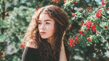Бесплатные фото модель, портрет, женщины, лицо, волнистые волосы, темные волосы, мода