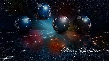 Фото бесплатно Рождество, новогоднее украшение, фон