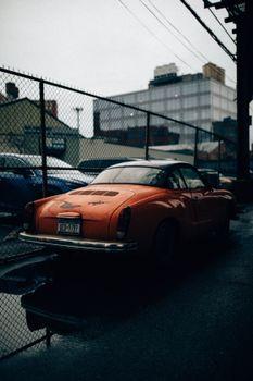 Фото бесплатно Старинный автомобиль, Andre Benz, Karmann Ghia