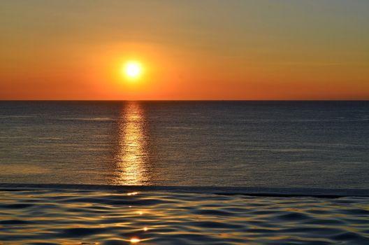Фото бесплатно океан, лето, свечение