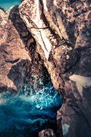 Бесплатные фото море,воды,камень,утес,размышления,геологическое явление,образование