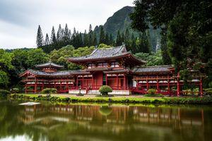 Фото бесплатно китайская архитектура, озеро, Китай