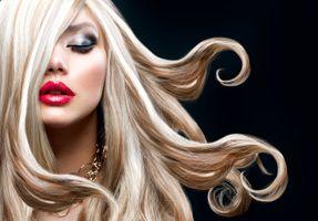Заставки блондинка, макияж, тени