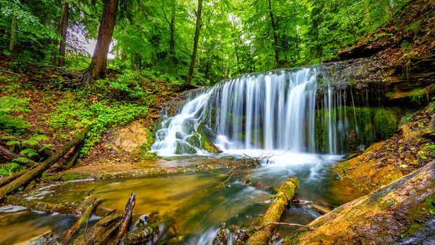 Фото бесплатно пейзаж, река, Harrison Park