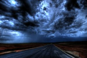 Photo free storm, Noci, oblaka
