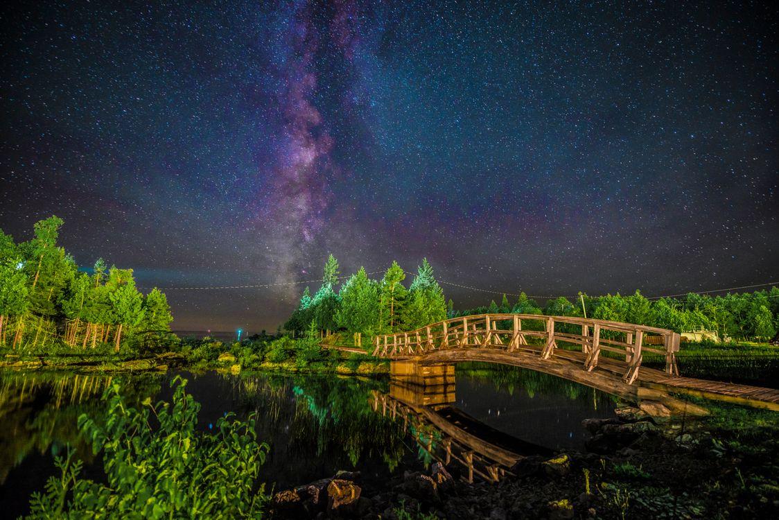 Photos for free night, Ontario, Canada - to the desktop