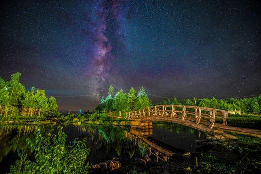 Фото бесплатно ночь, Онтарио, Канада