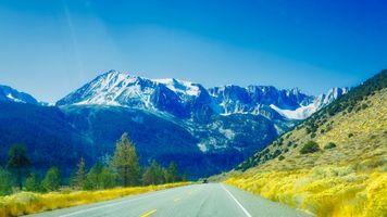 Бесплатные фото горы,дорога,путь,пейзаж,деревья,природа,вид