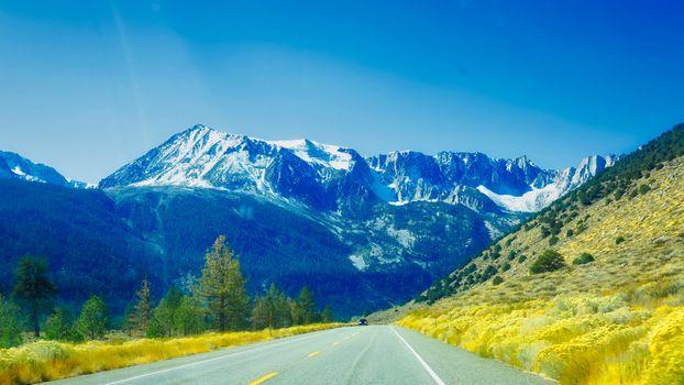 Фото бесплатно горы, дорога, путь