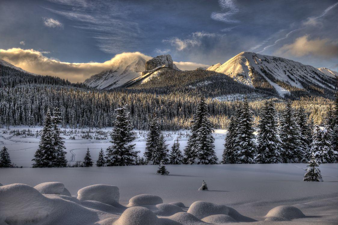Фото бесплатно Smith-Dorrien Trail, Kananaskis, Alberta - на рабочий стол