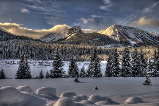 Фото бесплатно Smith-Dorrien Trail, Kananaskis, Alberta