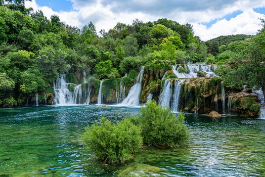 Заставки Krka, Croacia, река