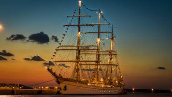 Фото бесплатно replica, sailing, sailing ship