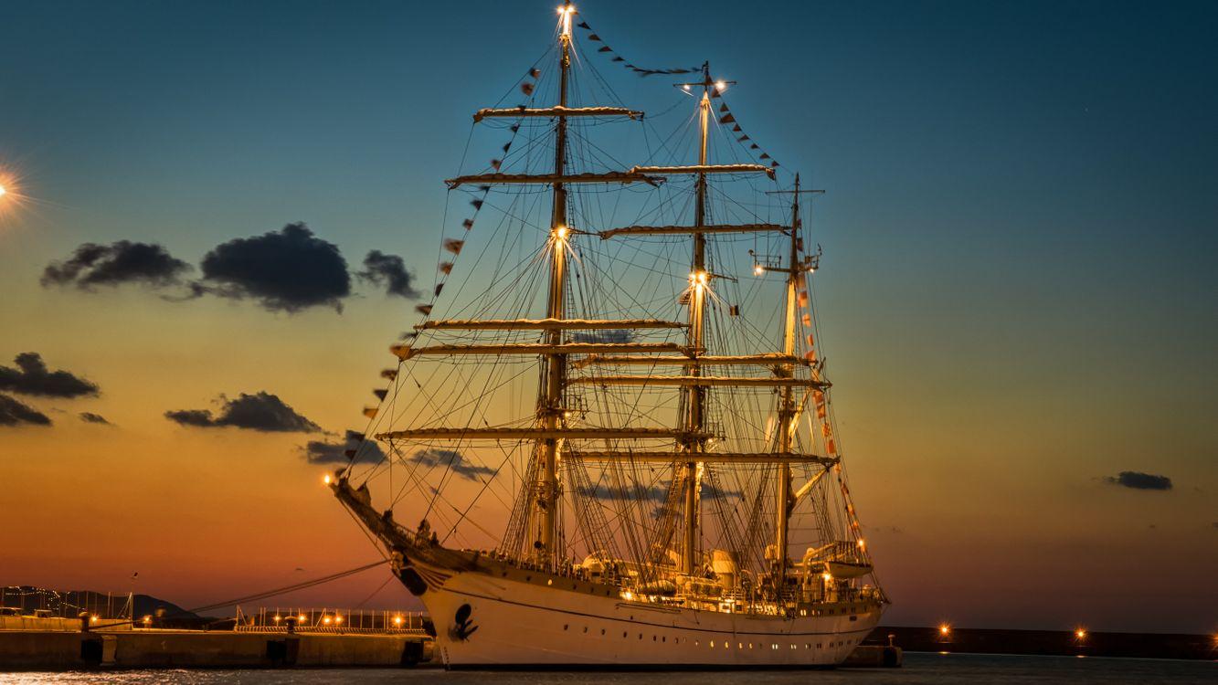 Free photo replica, sailing, sailing ship - to desktop