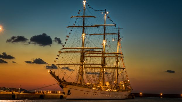 Photo free replica, sailing, sailing ship