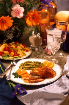 Заставки таблица, цветок, ресторан