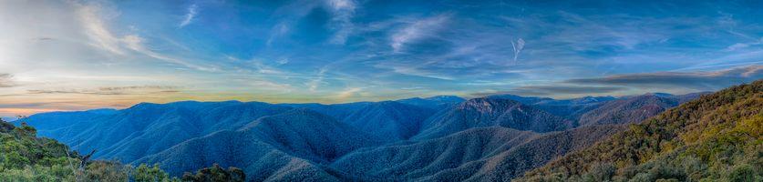 Фото бесплатно Black Perry s Lookout, Kosciusko National Park, NSW