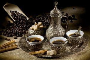 Кофейный сервиз · бесплатное фото