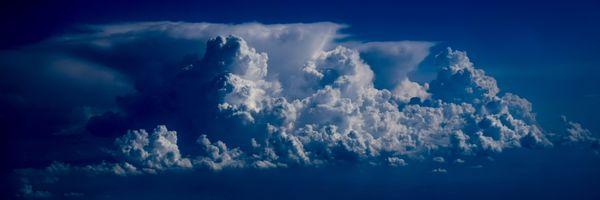 Фото бесплатно панорама, облака, природа