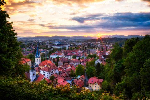 Заставки Ljubljana, Slovenia, Любляна