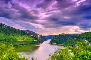 Заставки Дунай, Сербия, горы