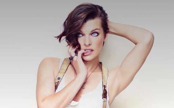 Photo free Milla Jovovich, celebrity, girls