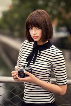 Photo free women, urban, 500px