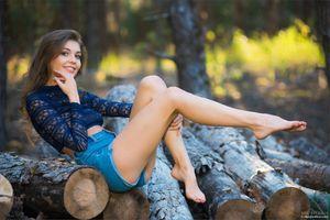 Фото бесплатно Линдси, сексуальная девушка, красавица