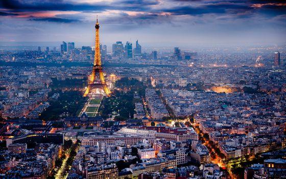 Фото бесплатно Франция, иллюминация, париж