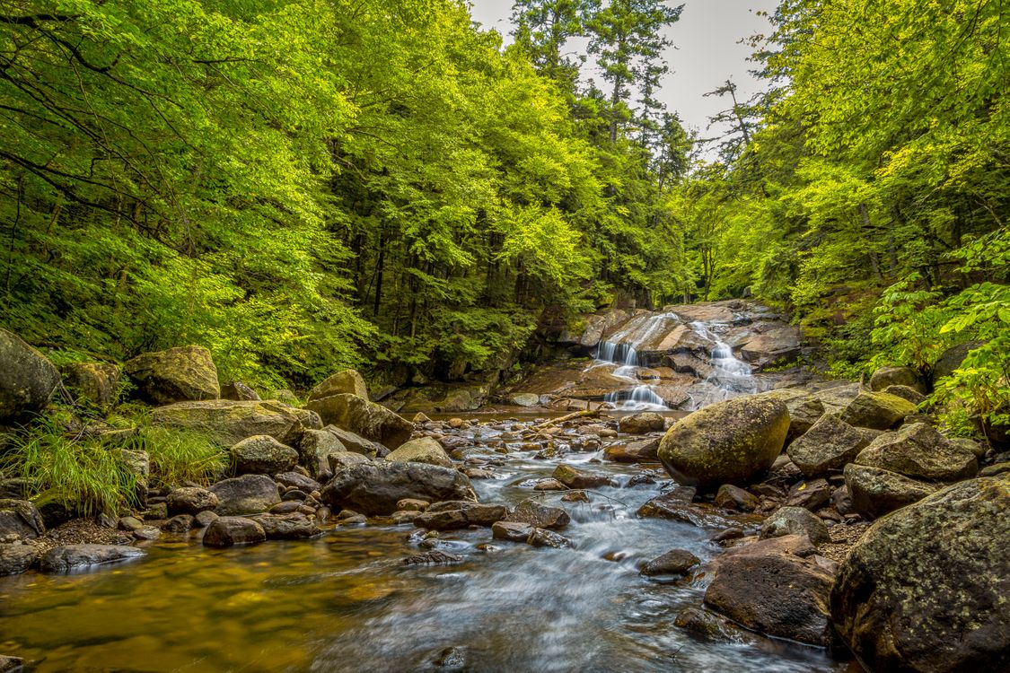 Фото бесплатно Конечно, река, водопад - на рабочий стол