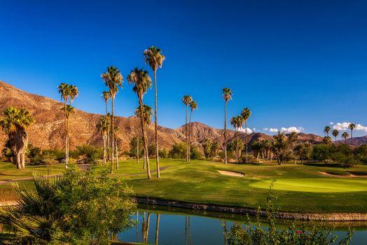 Бесплатные фото California,поле,поле для гольфа,горы,холмы,водоём,пейзаж