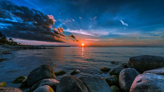 Photo free beach, coastline, rocks