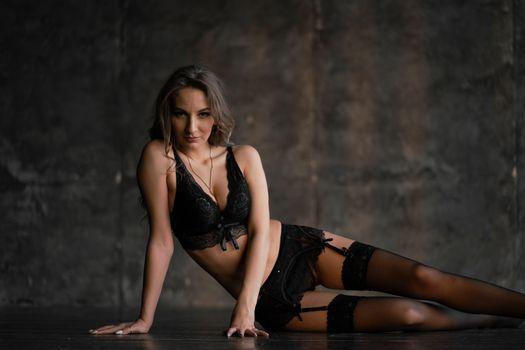 Photo free lingerie, stockings, skinny