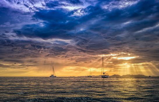 Photo free Thailand, Krabi, the sea