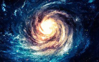 Фото бесплатно воронка, супер массивная черная дыра, центр галактики