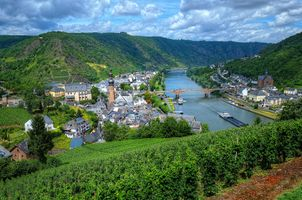 Фото бесплатно Cochem, Mosel Valley, Germany