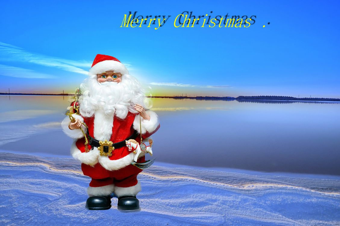 Фото бесплатно Santa Claus, Happy New Year, merry christmas - на рабочий стол