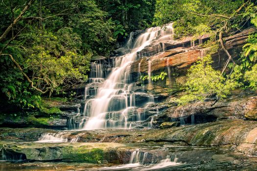 Photo free landscape, Somersby Falls, cascade