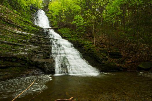 Водопад и пороги