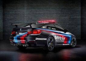 Фото бесплатно 2015, BMW M4 Coupe Safety Car, автомобиль