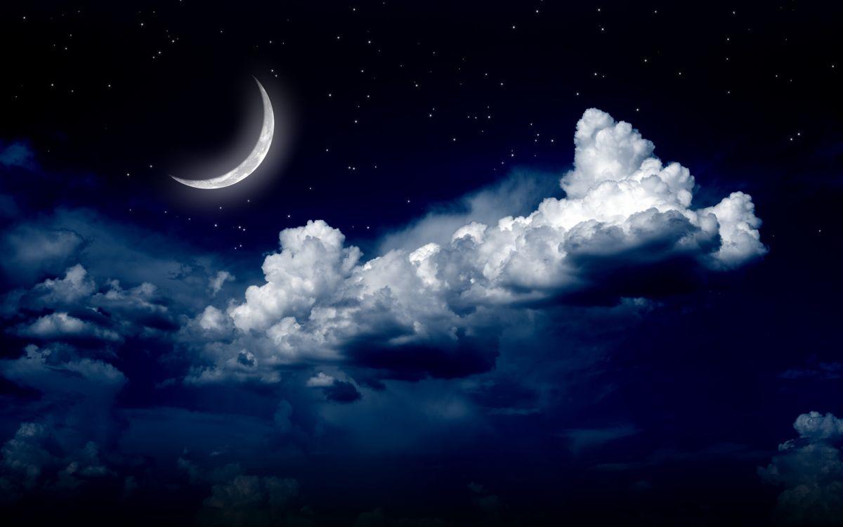 Фото бесплатно лунный свет, природа, луна - на рабочий стол